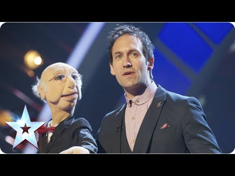 Steve Hewlett is the puppet master | Semi-Final 5 | Britain's Got Talent 2013