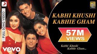 Download Lagu Kabhi Khushi Kabhie Gham - Shahrukh Khan | Lata Mangeshkar Gratis STAFABAND