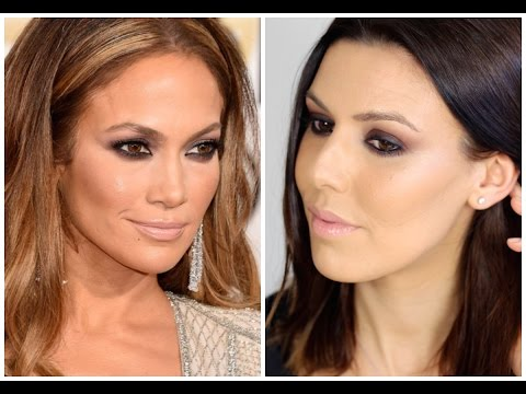 Jennifer Lopez 2015 Golden Globes Makeup Tutorial