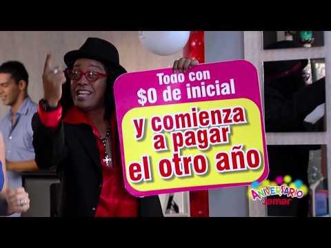 Comercial aniversario muebles jamar colombia 2012 youtube for Mueble jamar