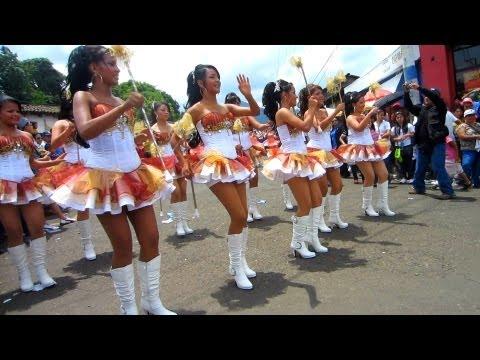 Ahuachapan Desfile Independencia, El Salvador 2013