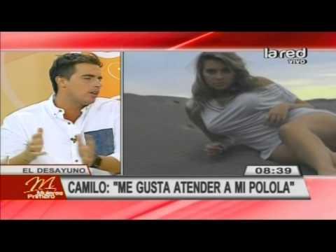Camilo Huerta habla de su relación con Connie Mengotti