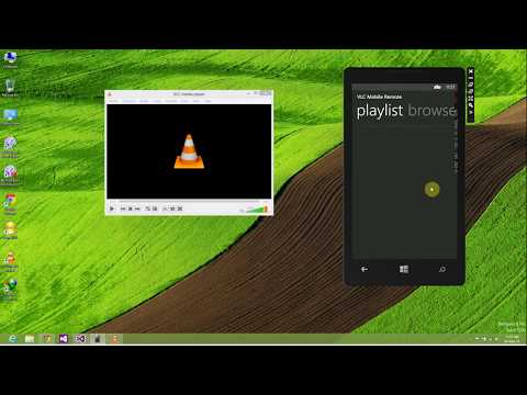 Setup Instruction for VLC Mobile Remote (For Android and Windows Phone)