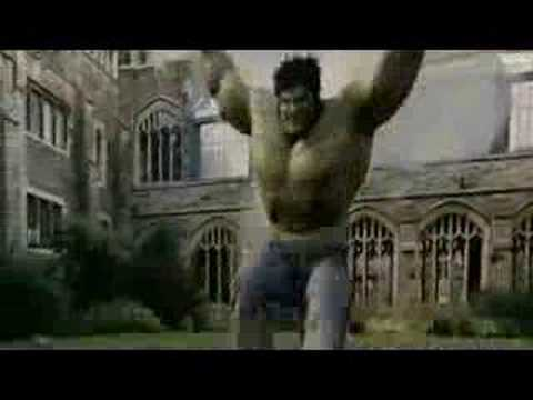 'THE INCREDIBLE HULK' MOVIE TRAILER