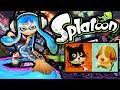 Splatoon Wii U Splatfest LIVE! Cats VS Dogs Turf War Ink Brush Online Stream Gameplay Walkthrough HD