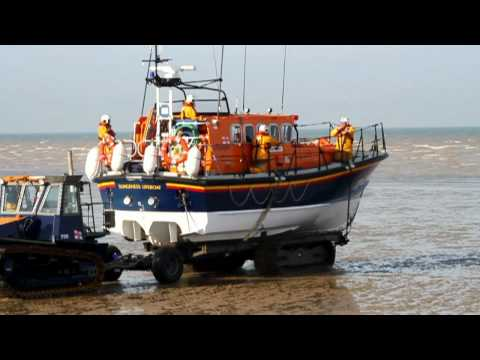 RNLI Dungeness Lifeboat Mersey Class Pride and Spirit