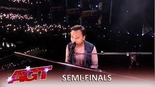 Kodi Lee: America Loves Kodi Gets STANDING Ovation in Semifinals!   America's Got Talent 2019