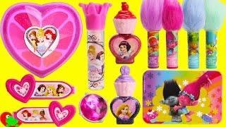 Disney Princess Beauty Kit Lip Balms and LOL Doll Surprises