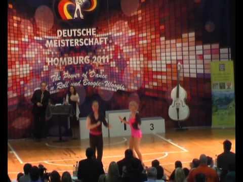 Lisa-Marie Nick & Harald Marzi - Deutsche Meisterschaft 2011