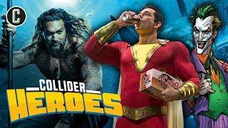 Aquaman, Shazam, and the Joker: Has DC Been Reborn? - Heroes
