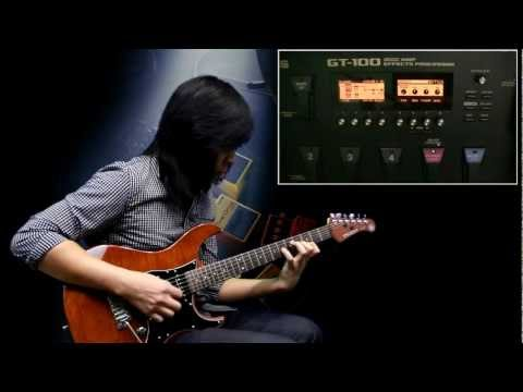 BOSS GT-100 Demo by Jack Thammarat