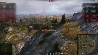 Strv 103B, Утёс, Стандартный бой