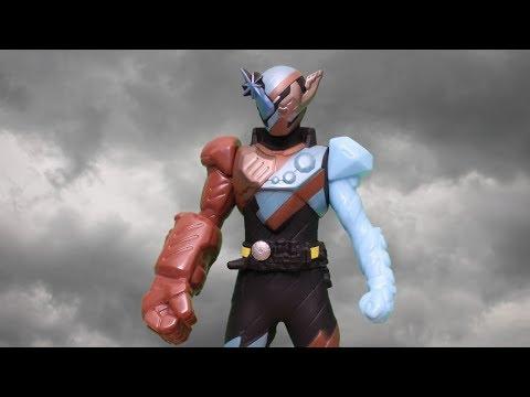 GORILLA MONDO FORM STOP MOTION KAMEN RIDER BUILD RIDER HERO SERIES 02