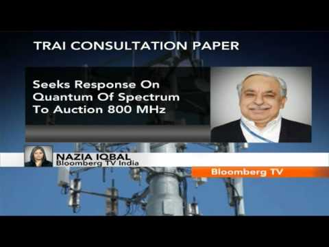 Newsroom- TRAI Paper On CDMA Spectrum Auction