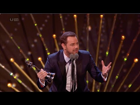 Danny Dyer Wins National Television Award for Serial Drama Performance (NTA's)