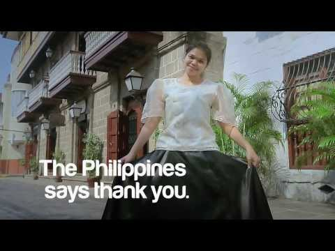#PHthankyou | The Philippines says Thank You!