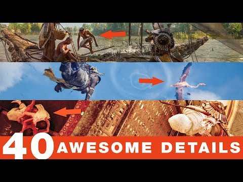 40 More Awesome Details in Assassin's Creed Origins