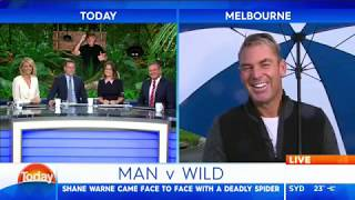 Warnie talks about finding 'the one'