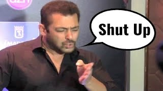 Salman Khan Angry Moments Compilation