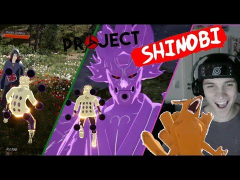 Wird dieses Spiel das erste Naruto Openworld Game?!/Project Shinobi angezockt!