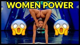 "Top 3 Women's ""UNEXPECTED & SHOCKING"" Moments EVER That Will BLOW YOUR MIND - Got Talent World!"