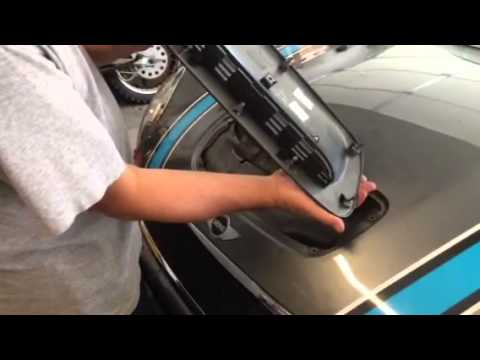 How To Replace Hood Scoop On 2007 Mini Cooper S R56 Youtube
