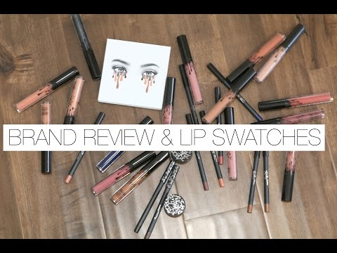 Kylie Cosmetics   Lip Swatches & Mini Reviews