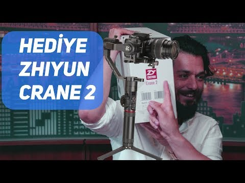 Hediye Zhiyun Crane 2 - Hayrettin