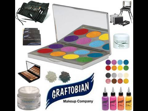LARGE Graftobian HD Makeup Review