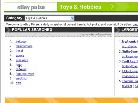eBay Tips! 2. Finding Hot Products to Sell on eBay