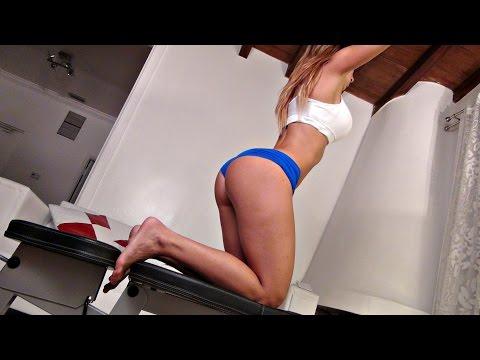 Sexy Booty And Leg Exercises On A Bench! video