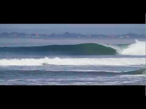 Indonesia's best professional surfers at Keramas enjoying perfect barrels. A good South swell hit Bali, and the locals know to avoid the usual spots on the Bukit with conditions like these, and went to hit up the East coast. Plenty of reward in clean water and glassy barrels. Courtesy of IndoSurfLife.com.