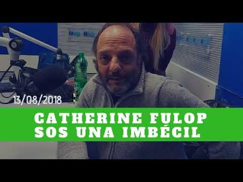 Baby Etchecopar Catherine Fulop Sos Una Imbécil