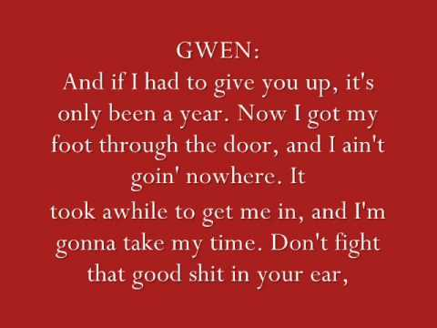 Eve ft Gwen Stefani - Let Me Blow Ya Mind (LYRICS)
