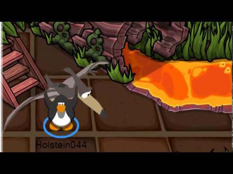 Truco al transformarse en Dinosaurio Club Penguin 2013