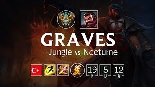 Graves Jungle vs Nocturne - TR Challenger Patch 8.10