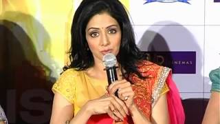 English Vinglish - Actress Sridevi at English Vinglish Movie Press Meet