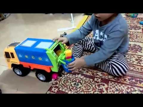 Excavator toy - Xe ô tô máy xúc đồ chơi mô hình