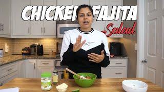 Amazing Lunch Chicken Fajita Salad Recipe!
