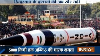 India Set to Test-launch Agni 5 Missile today That Can Hit China