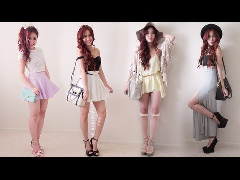21st Birthday Lookbook ✘ {4 Looks}