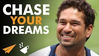 Chase your DREAMS - Sachin Tendulkar (@sachin_rt) - #Entspresso