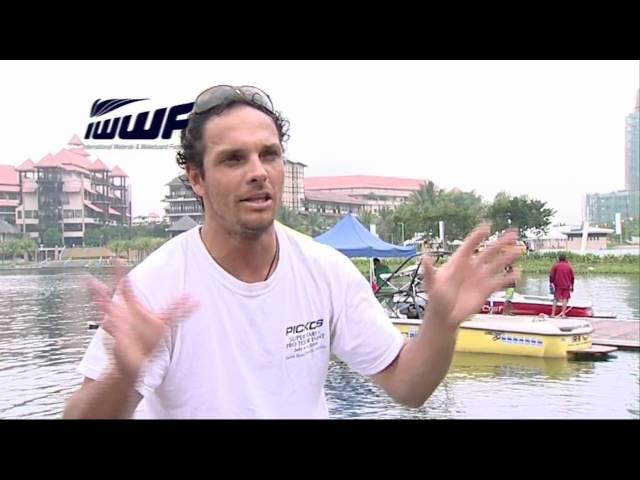 IWWF World Cup feature - Javier Julio