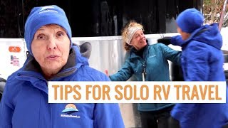 What Solo Female RVers Need to Know about Staying Safe and RV Living | RV Lifestyle