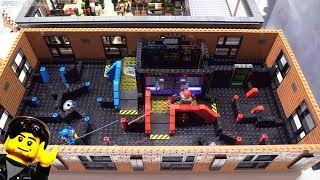 LEGO laser tag arena MOC progress 8
