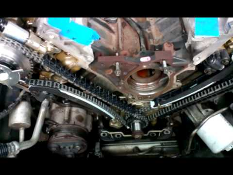 camphaser replacement and timing chain. tensioners 201305-04 19.27.01