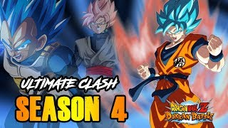 SEASON 4 IS NOW IS LIVE! DOKKAN ULTIMATE CLASH FULL FIGHT | DRAGON BALL Z DOKKAN BATTLE