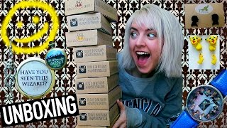 FANDOM OF THE MONTH UNBOXING HAUL- Harry Potter, Sherlock, and MORE