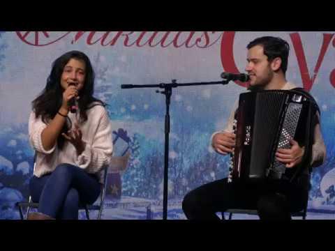 Tóth Andi & Szabó Ádám - Te lettél (Budapest, Mikulásgyár-Millenáris 2019-12-13)