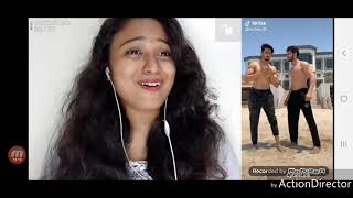 Reaction To Mr Faisu 07 New Tik Tok Videos By Aafreen Shaikh